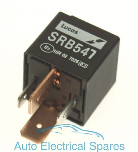 lucas SRB547 28RA relay 12v 70A with resistor